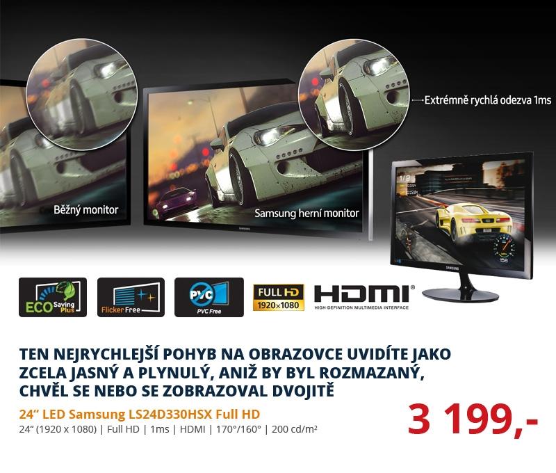 24 LED Samsung LS24D330HSX Full HD HDMI